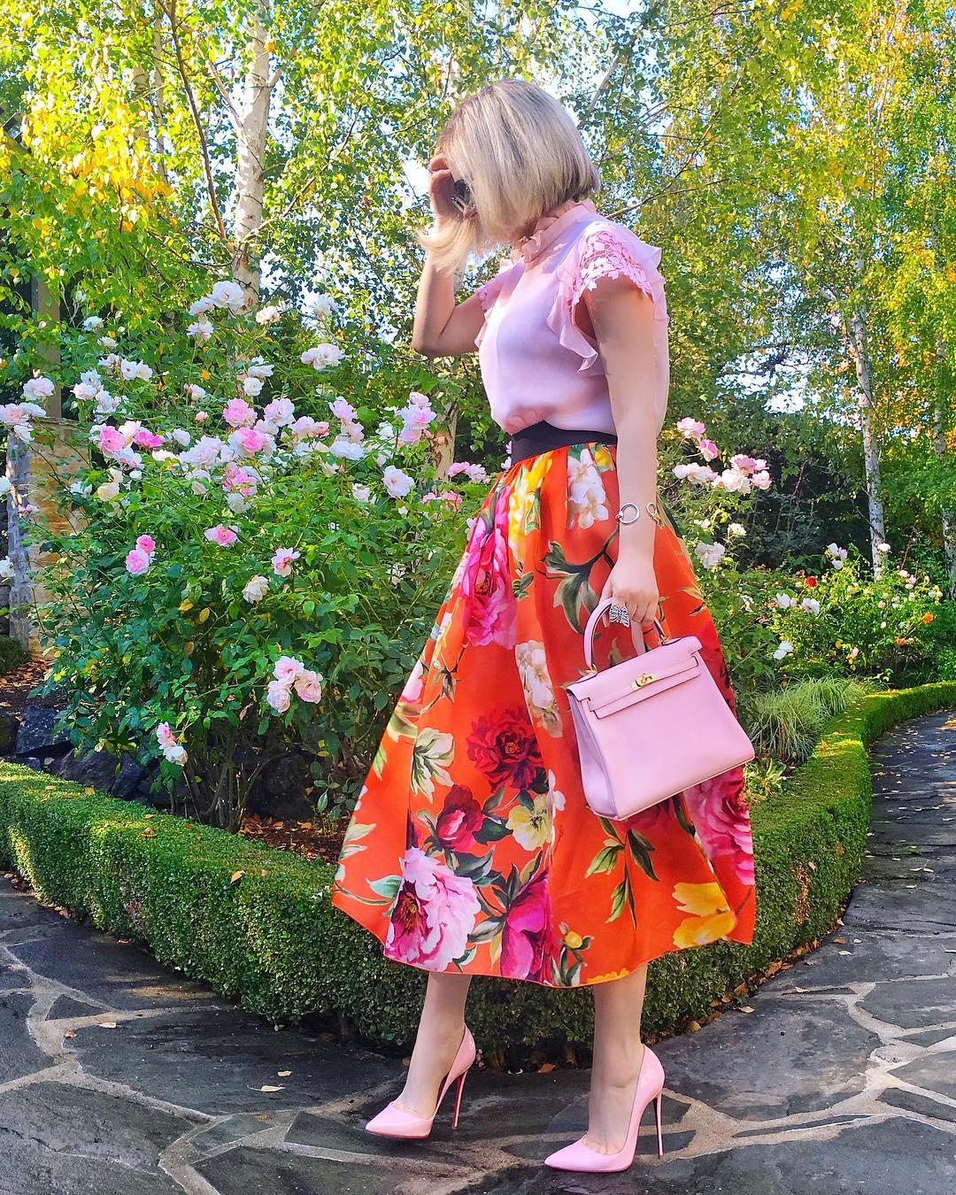 Розовые туфли фото 6