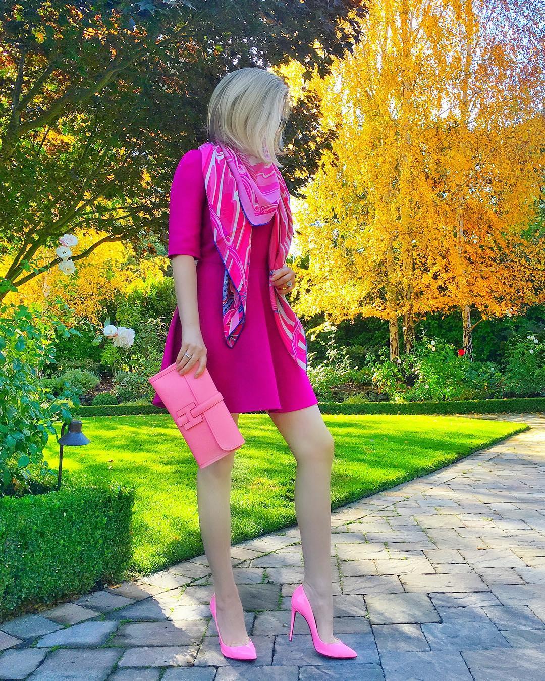 Розовые туфли фото 7