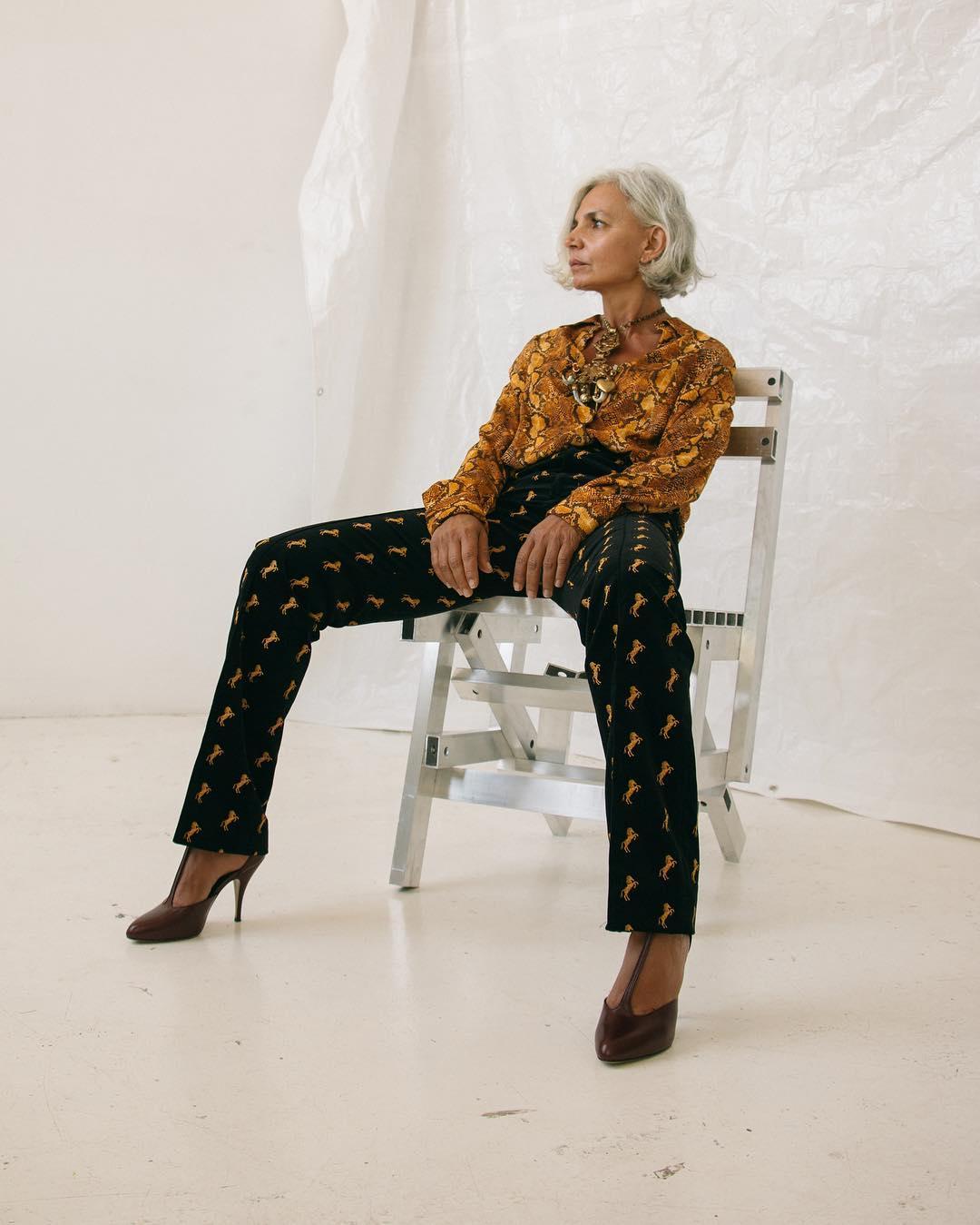 Блузки 60 лет фото 3