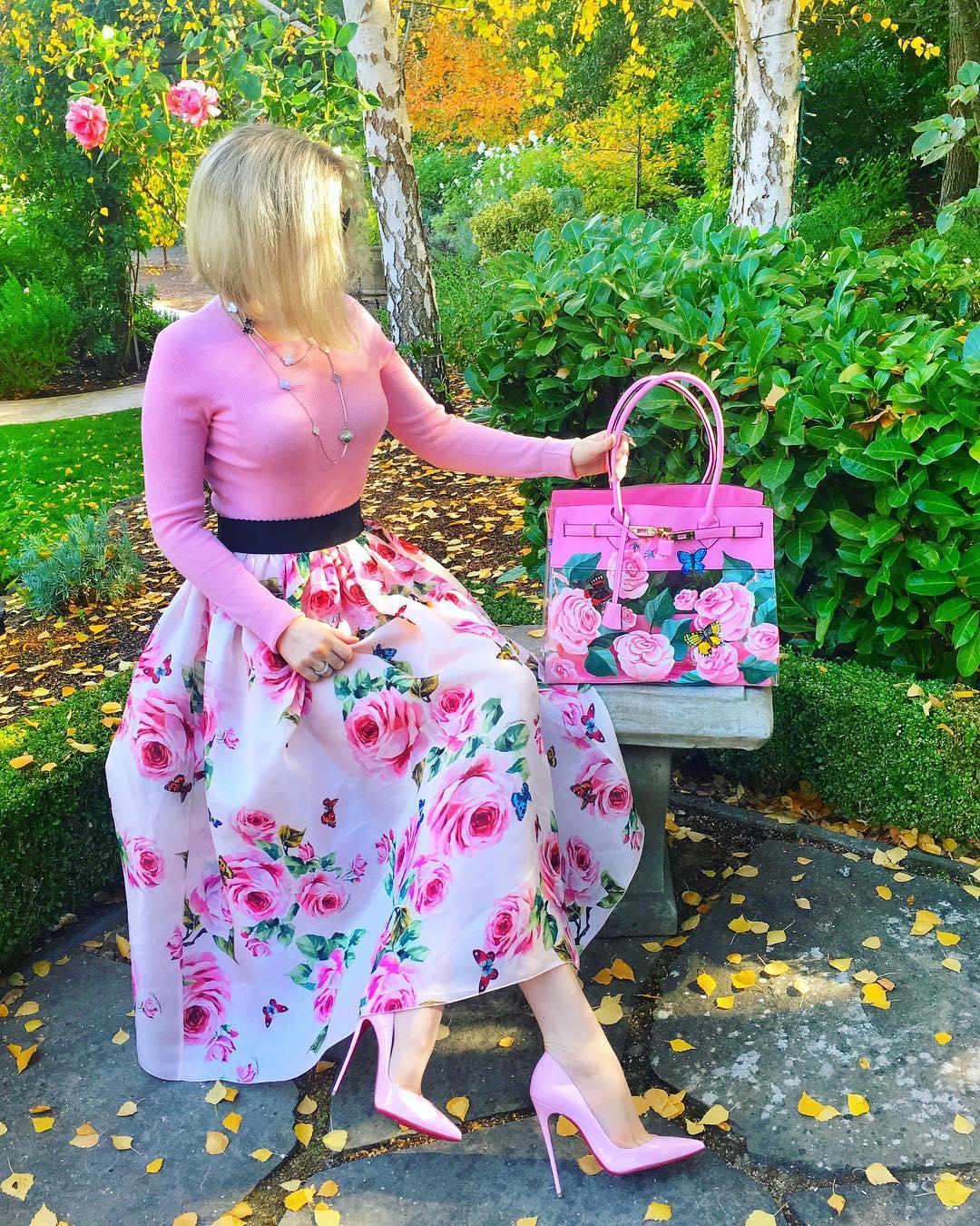 Розовые туфли фото 8