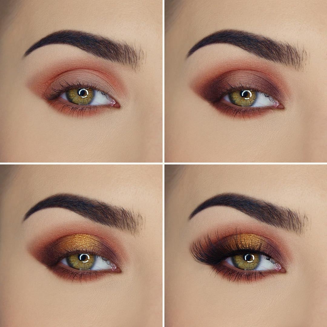 макияж глаз для рыжих фото 18