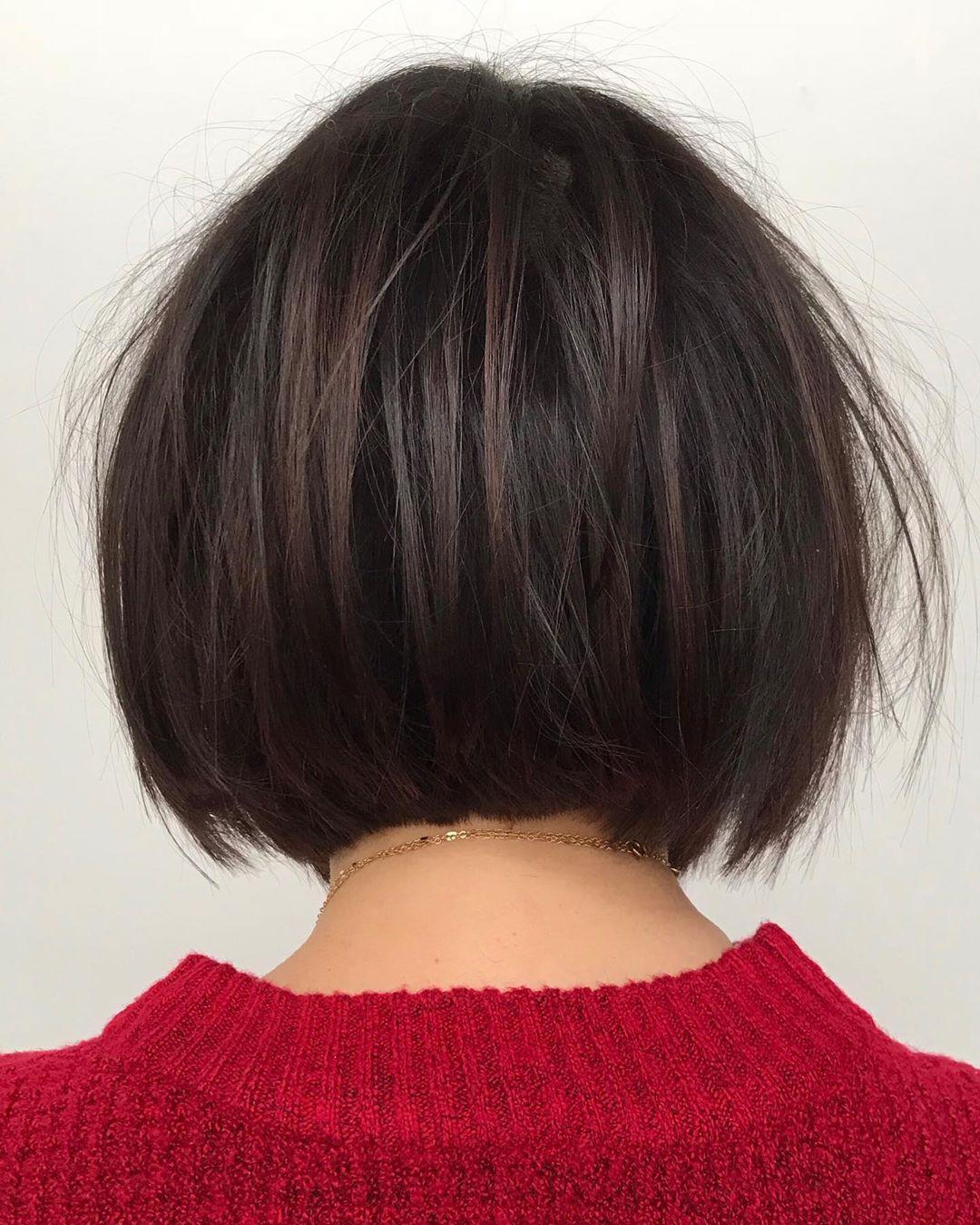 Короткие стрижки для прямых волос фото 6