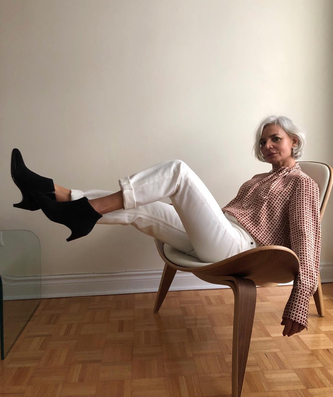 Блузки 60 лет фото 14