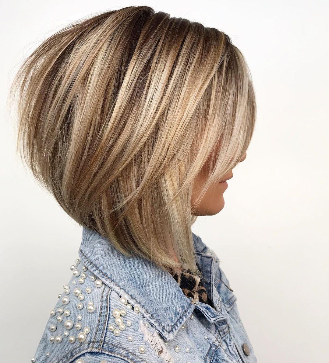 короткие стрижки для густых и прямых волос фото 10