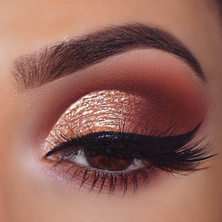 макияж глаз для рыжих фото 12