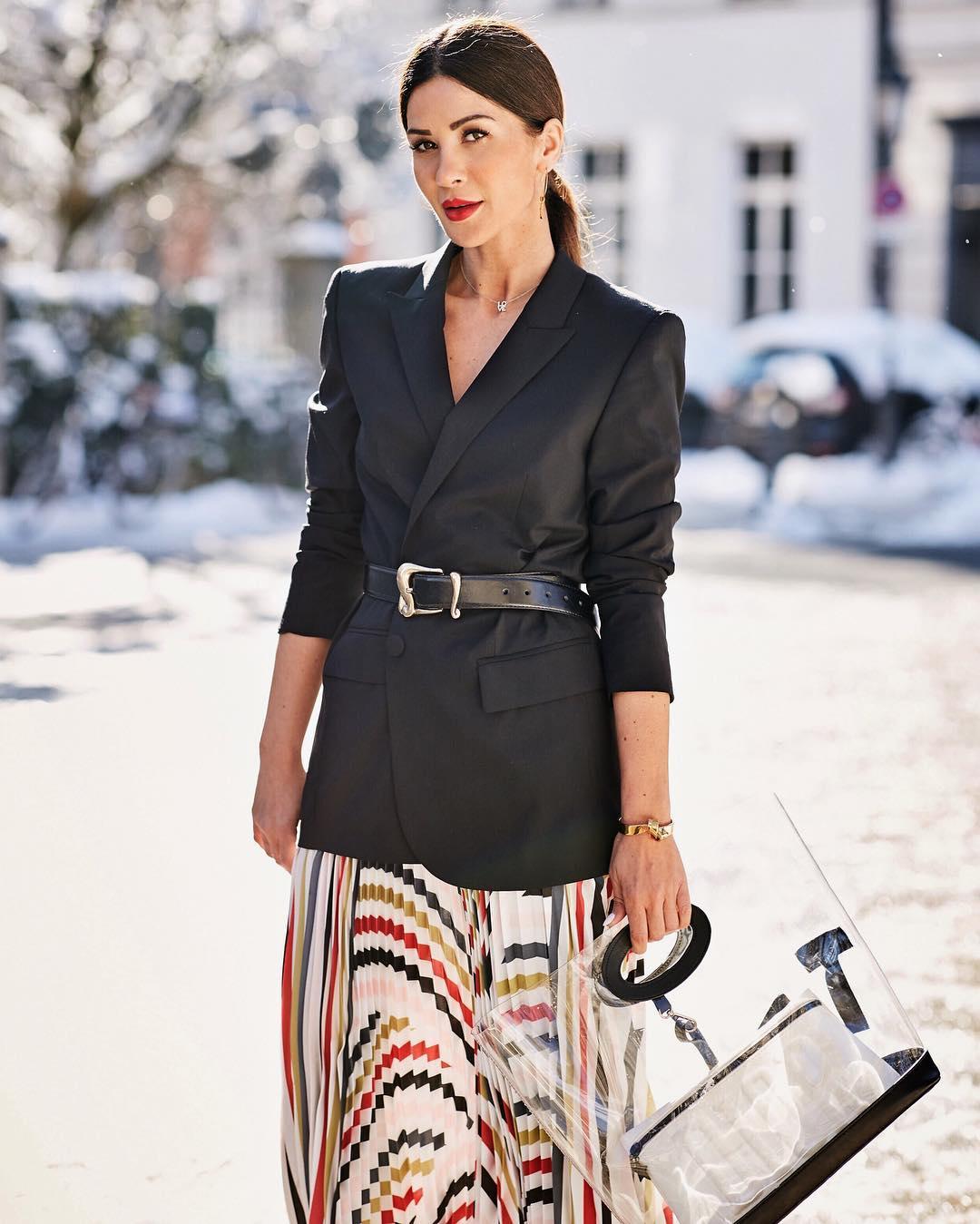 вещи, которые модно носить с ремнем фото 3