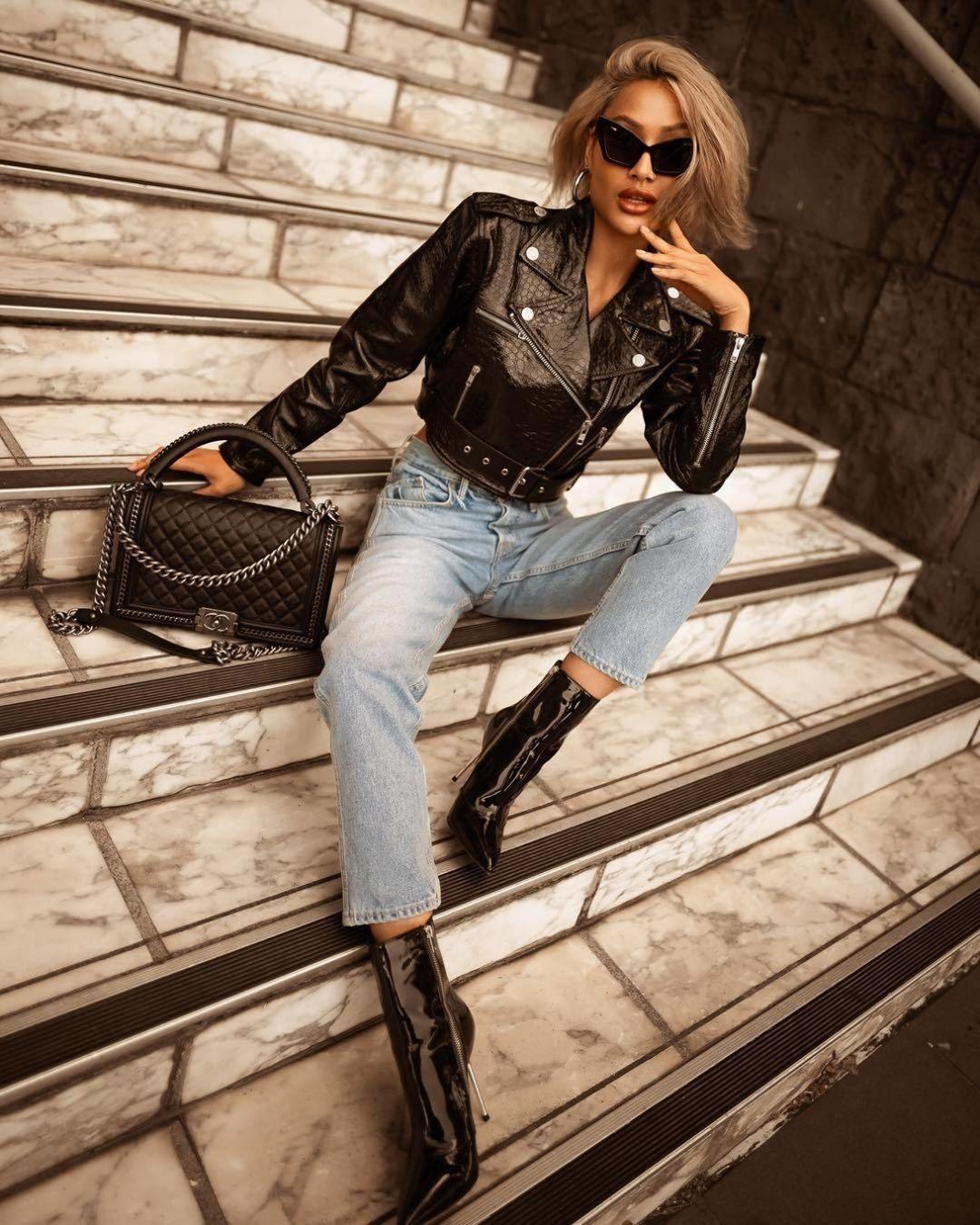 вещи, которые модно носить с ремнем фото 16