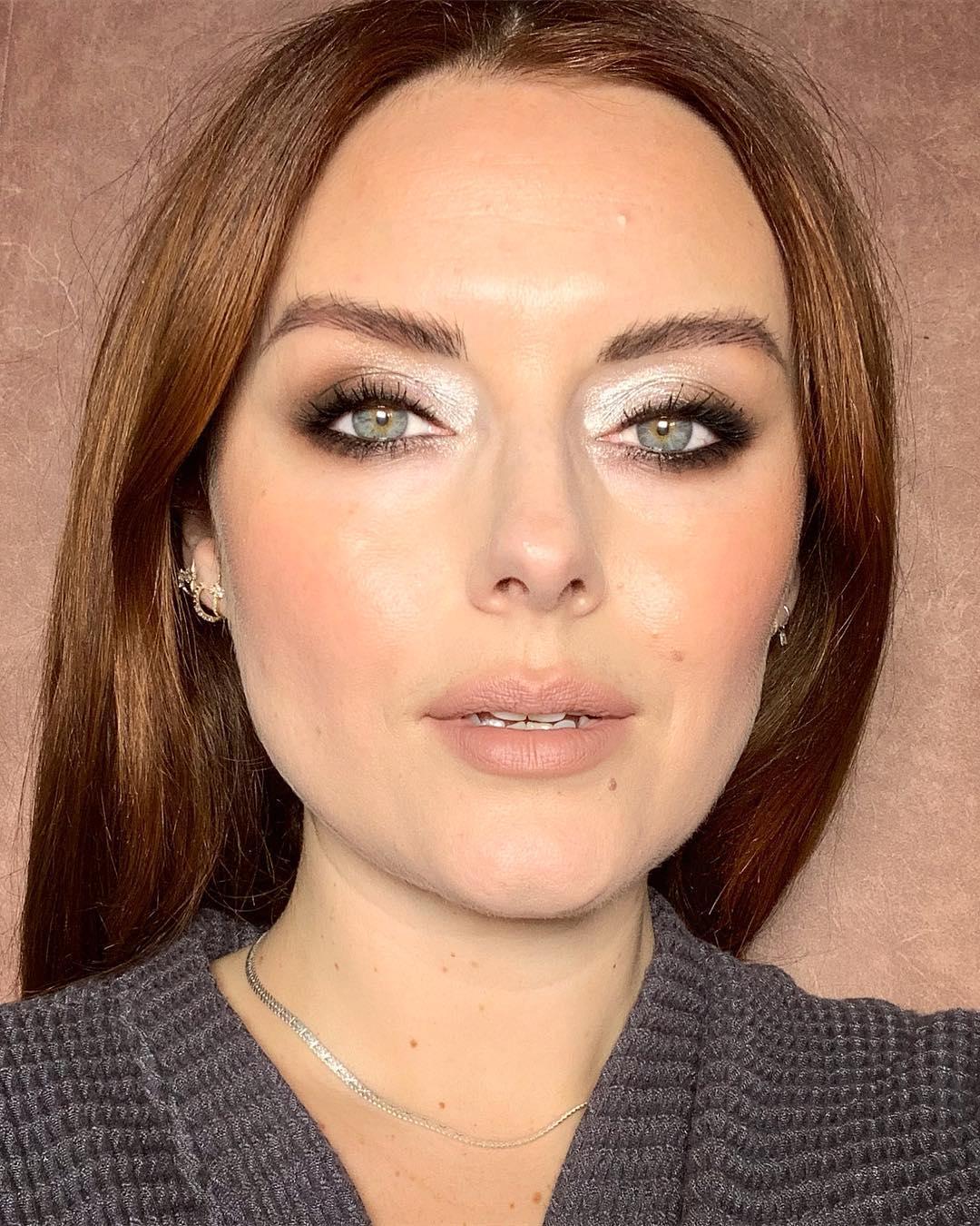 макияж глаз для рыжих фото 2