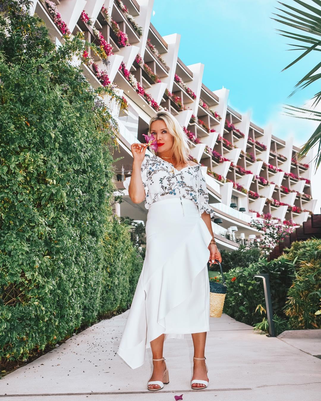 Блузка с длинной юбкой фото 4