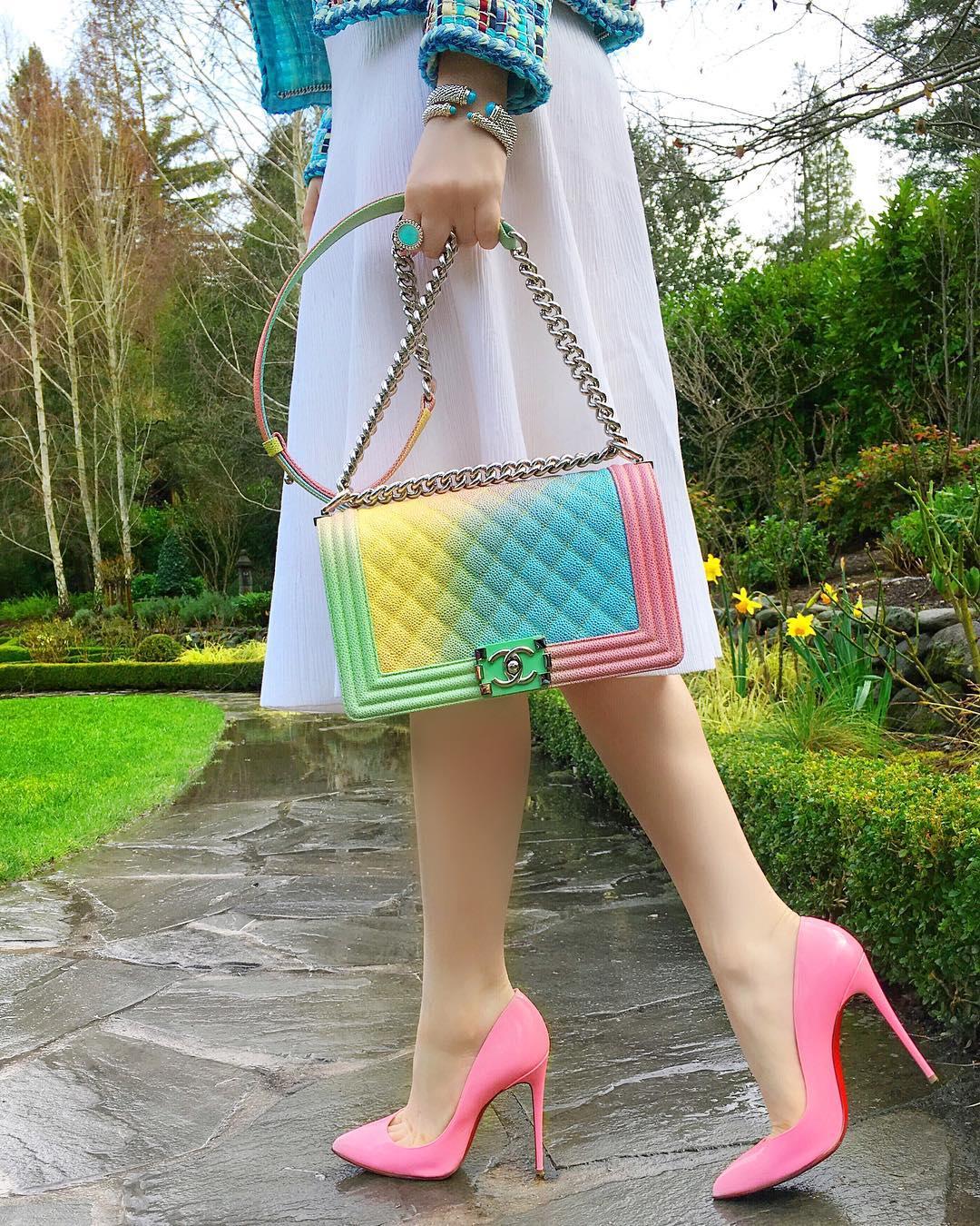 Розовые туфли фото 10