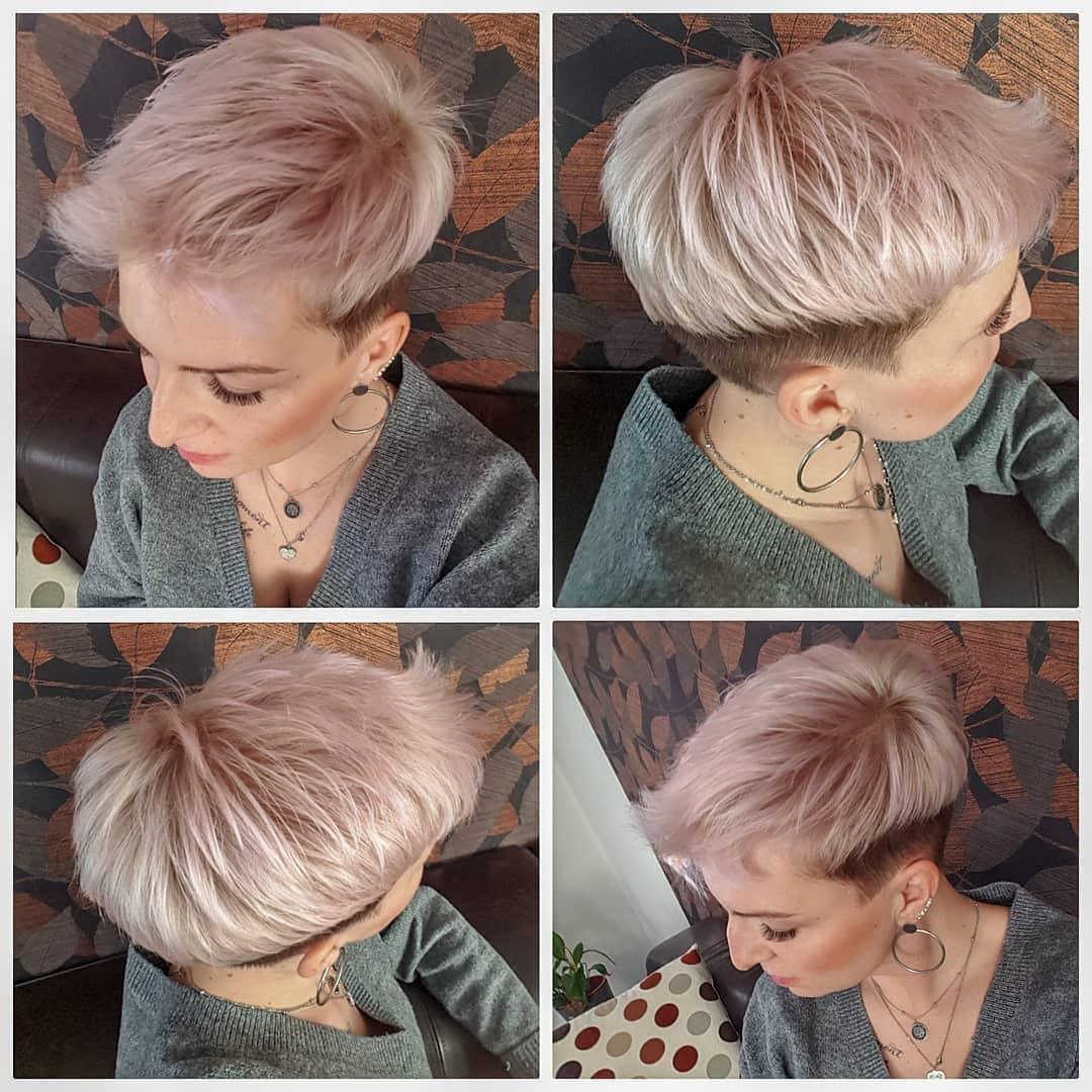 короткие волосы в стиле тамблер фото 6
