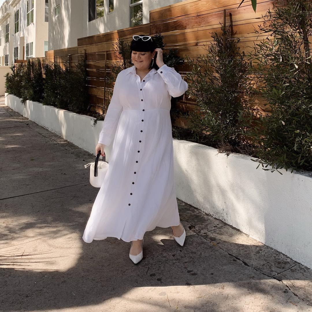 Платья для полных женщин 50 фото 4