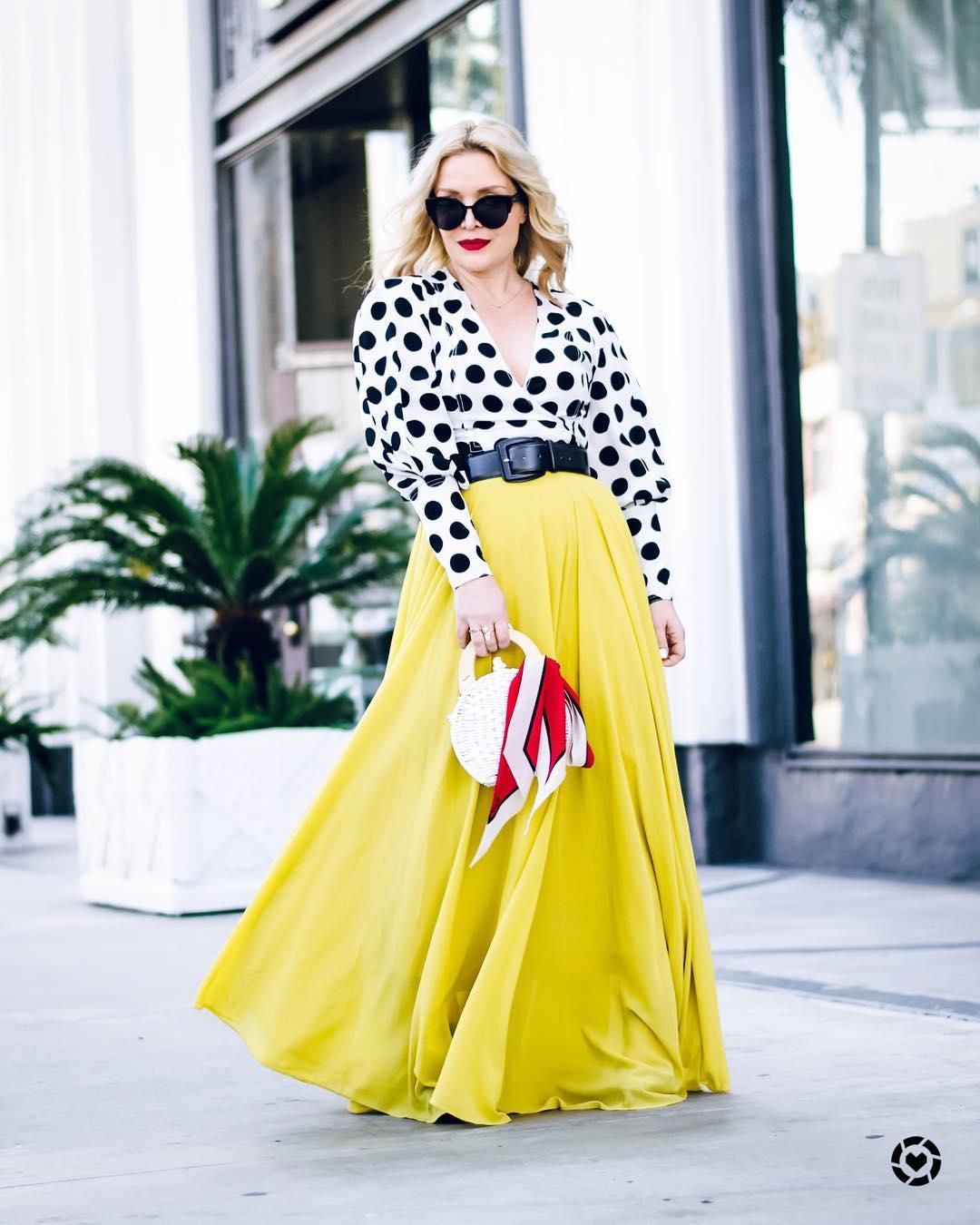 Блузка с длинной юбкой фото 5