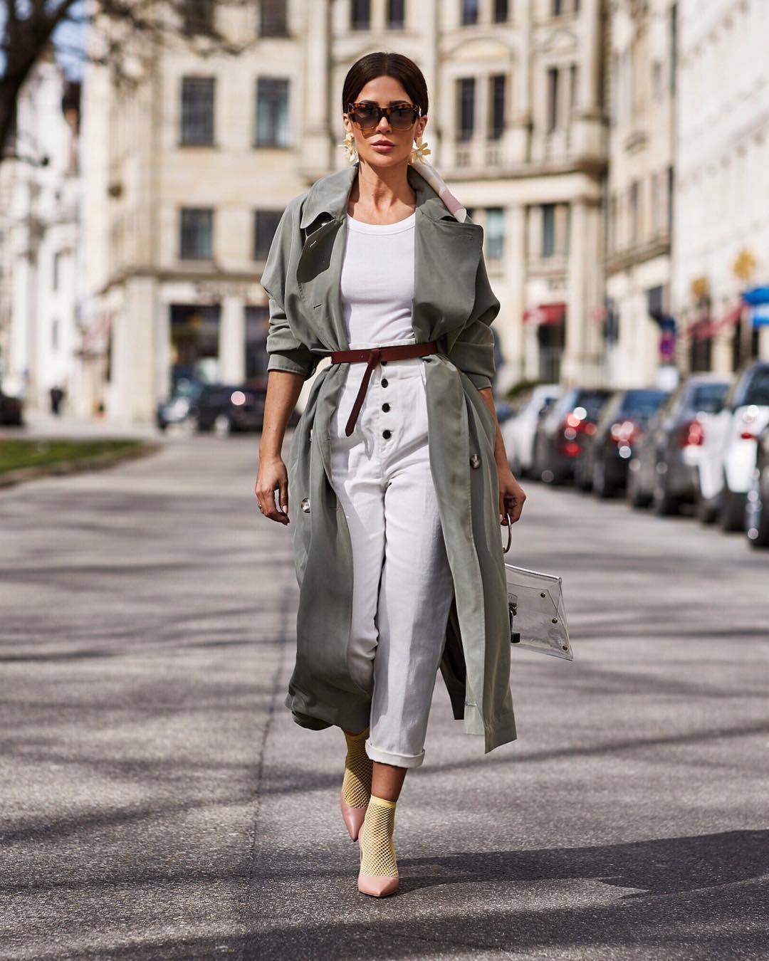 вещи, которые модно носить с ремнем фото 6