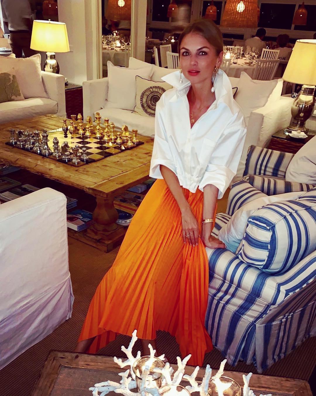 Блузка с длинной юбкой фото 8