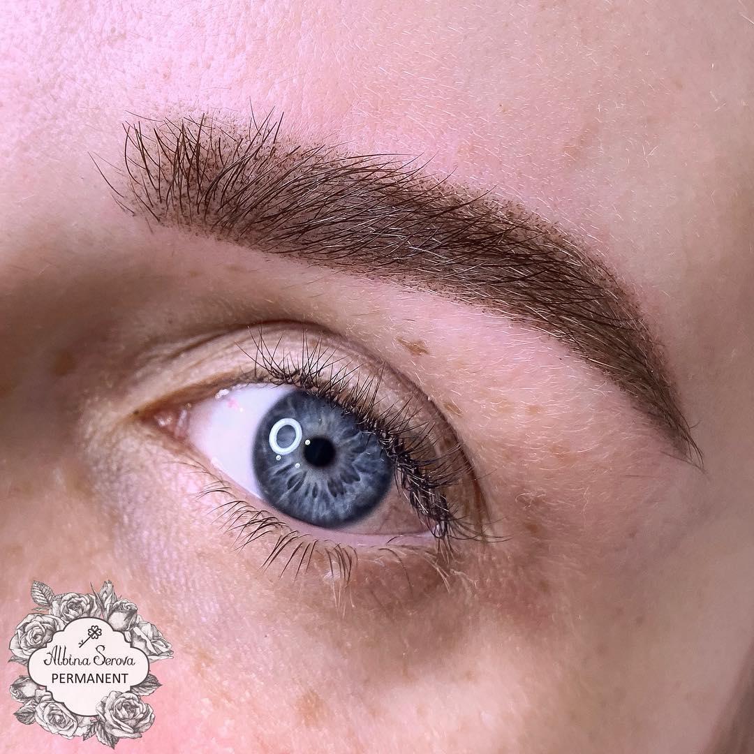 макияж бровей фото 5