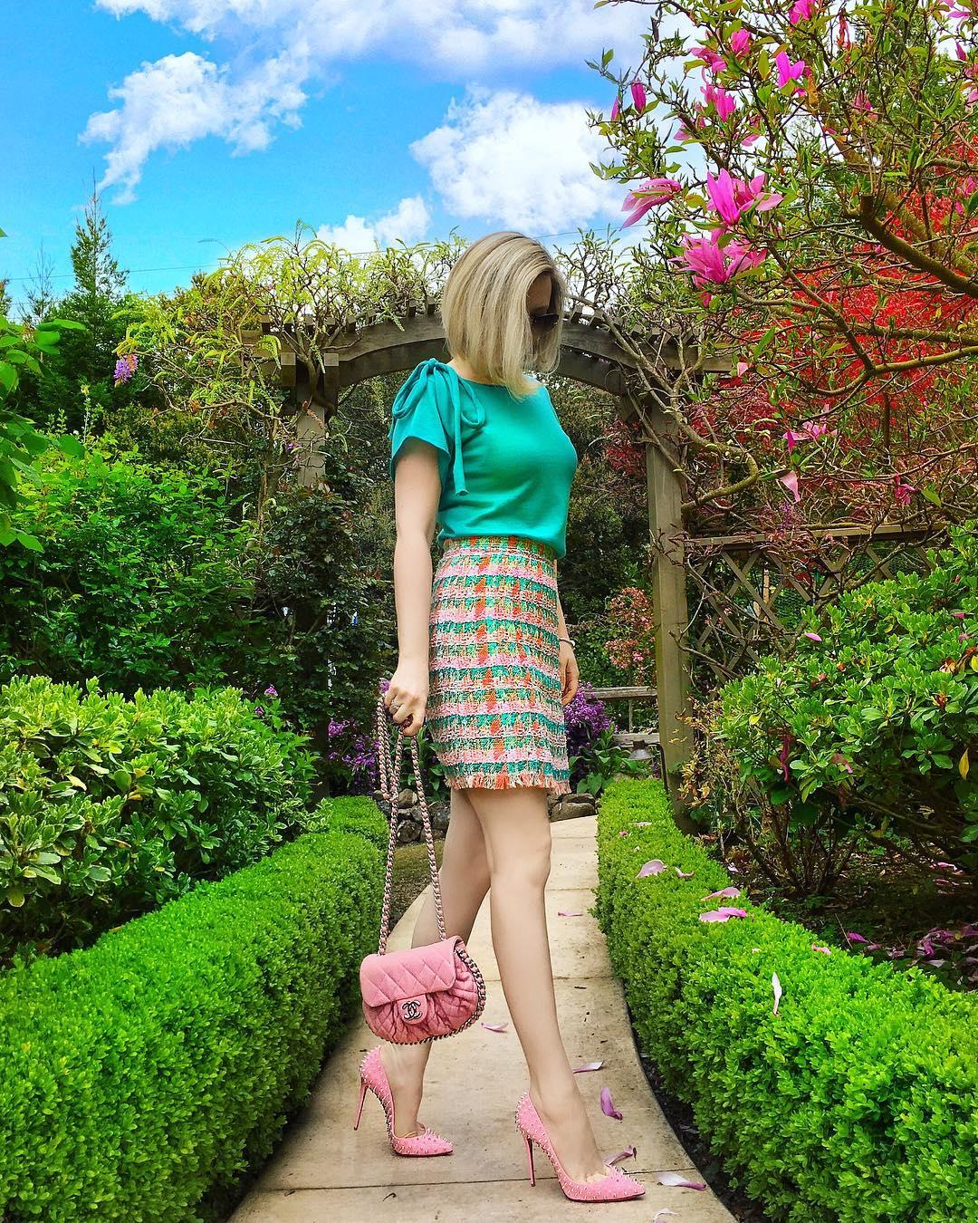 Розовые туфли фото 12