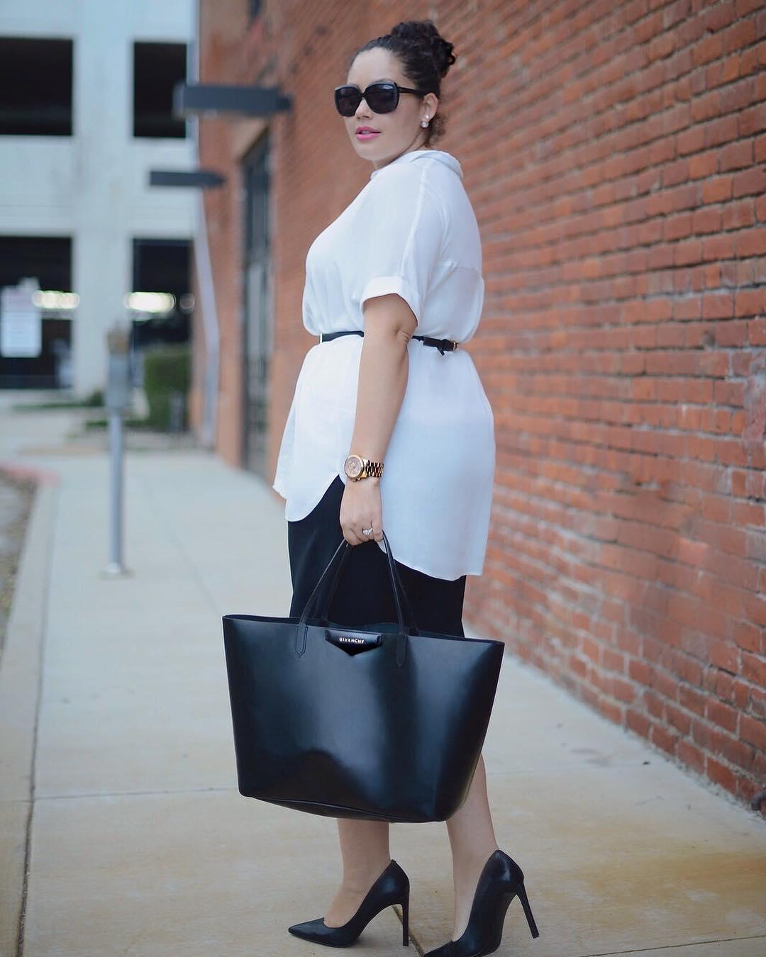как одеваться полным женщинам фото 9