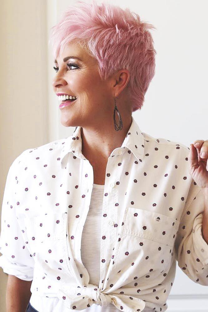Причёски для женщин старше 60 лет фото 1