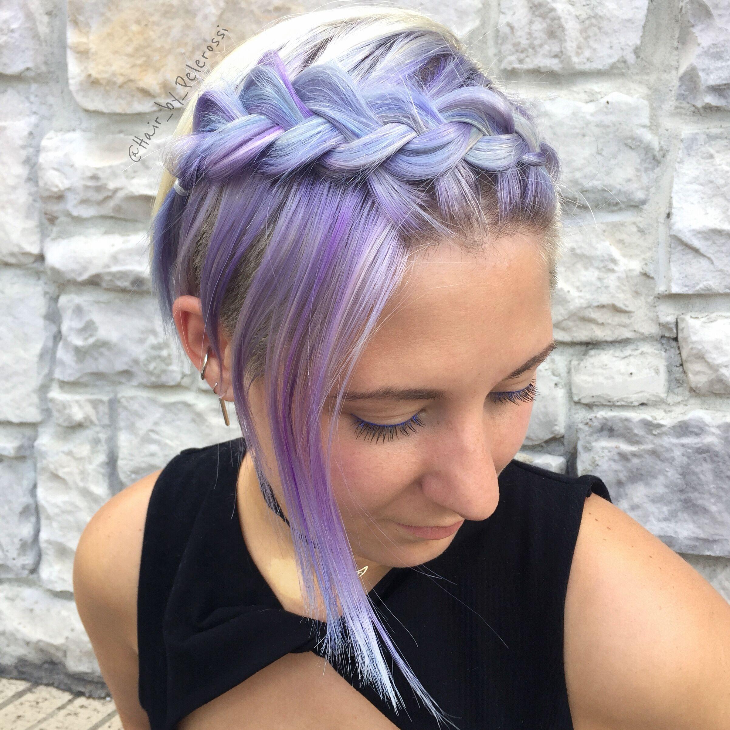 плетеные прически для коротких волос фото 44