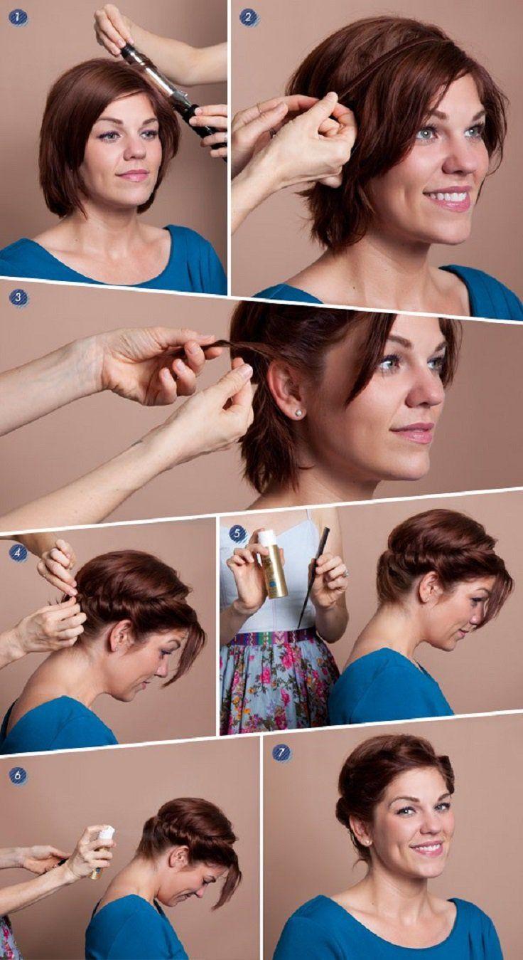 причёски для коротких волос фото 2