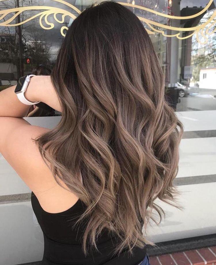 пепельно-каштановые оттенки волос фото 12