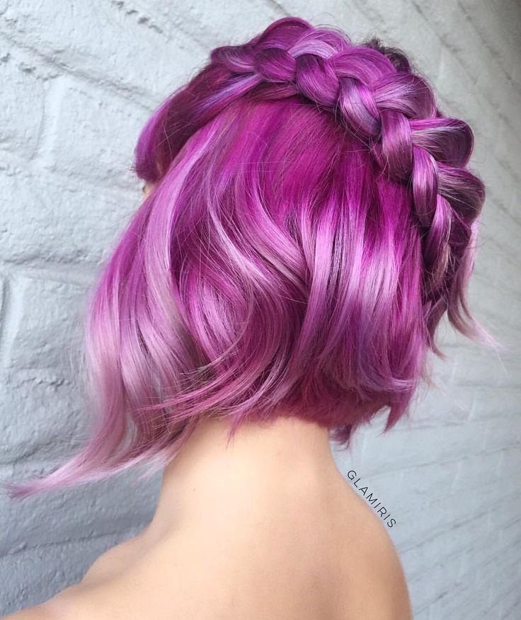 плетеные прически для коротких волос фото 41