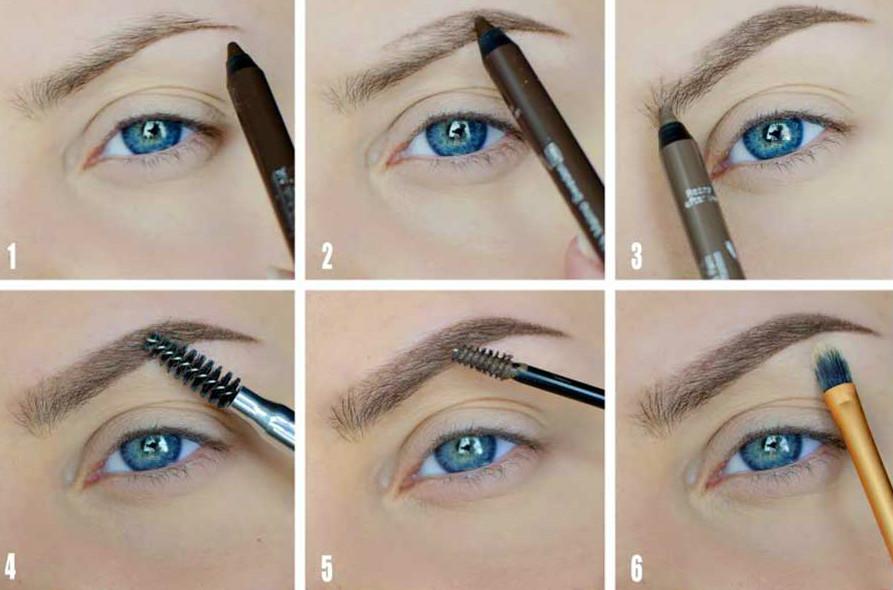 макияж бровей фото 1