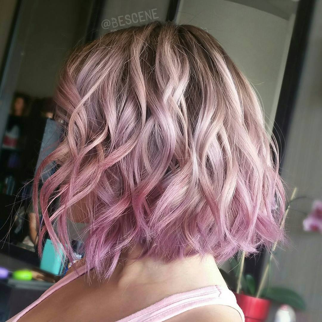 короткие волнистые причёски 2019 фото 9