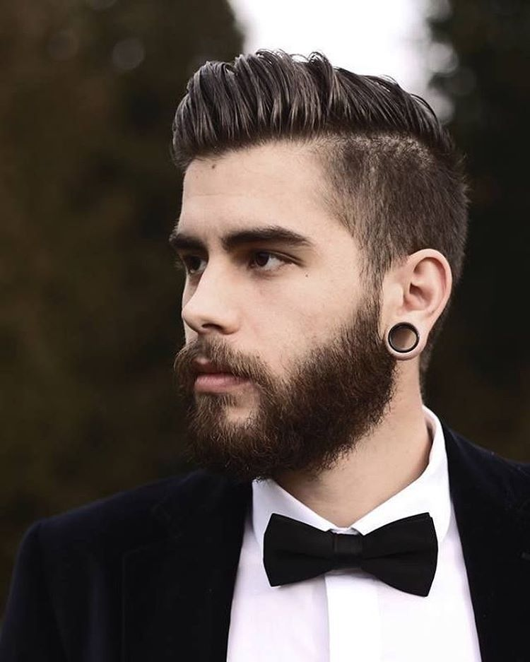 мужские прически  для редеющих волос фото 4