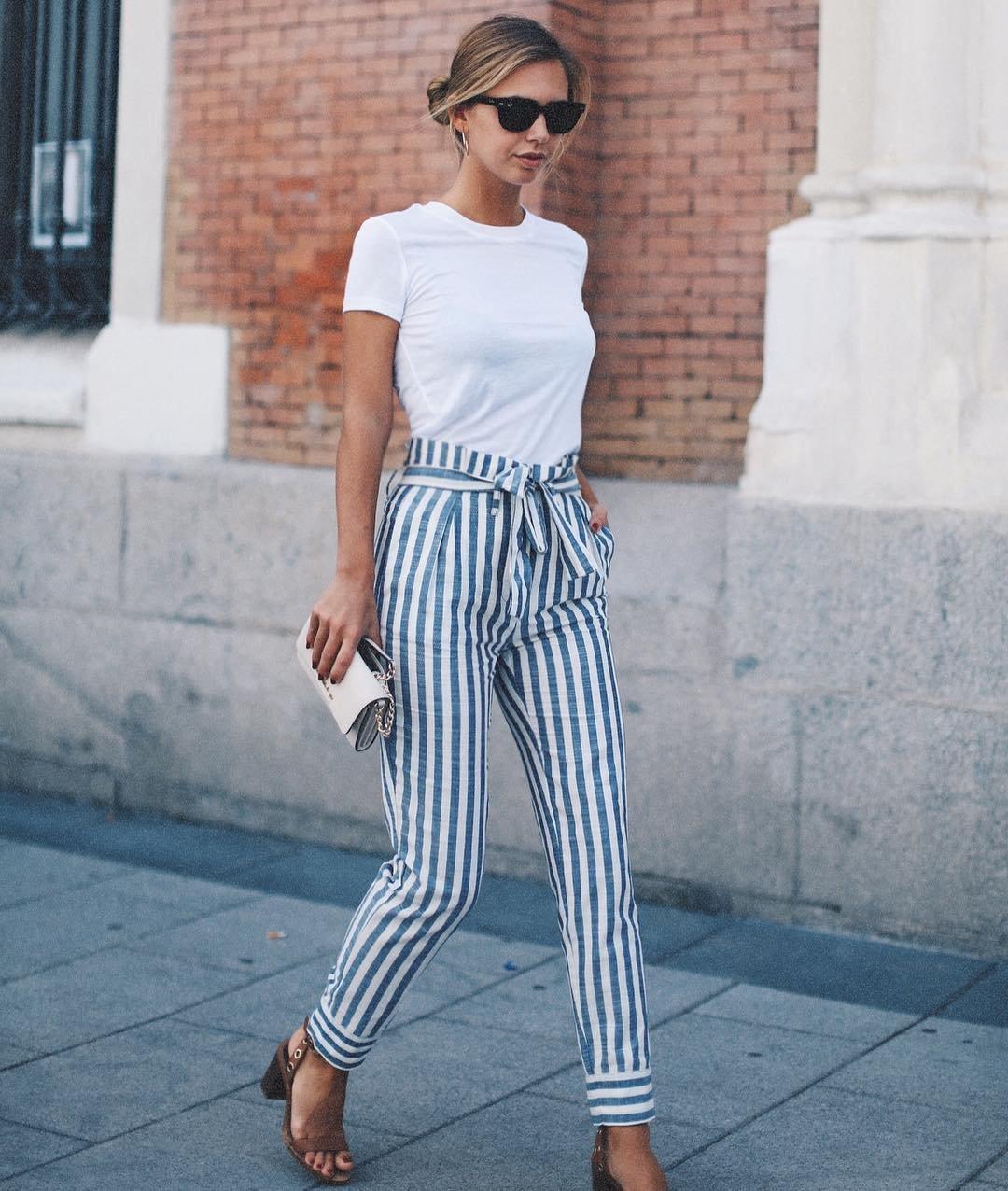 с чем носить брюки летом фото 12