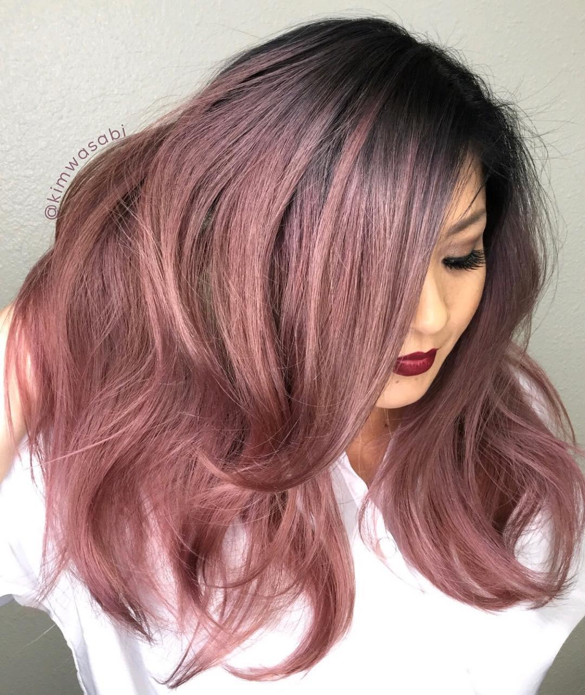Цвет волос металлик фото 4