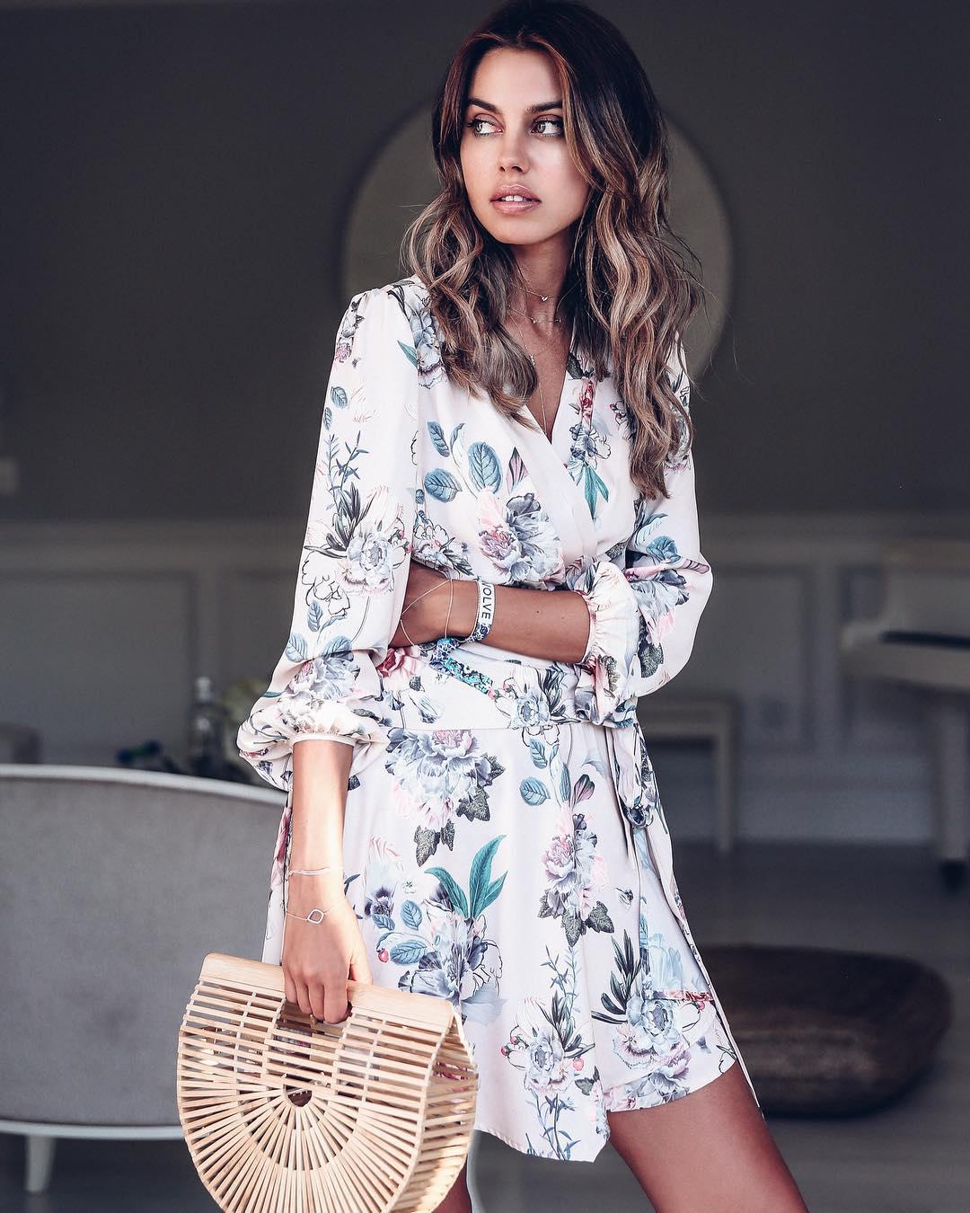 Модные летние платья фото 10