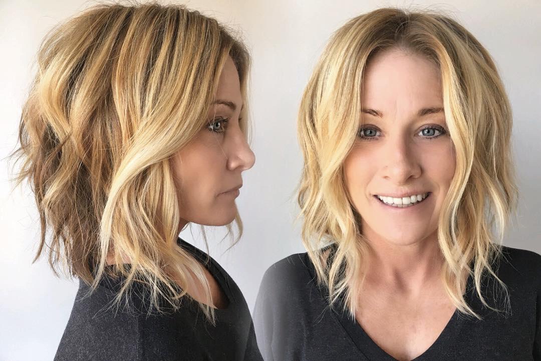 короткие причёски для женщин старше 40 фото 14
