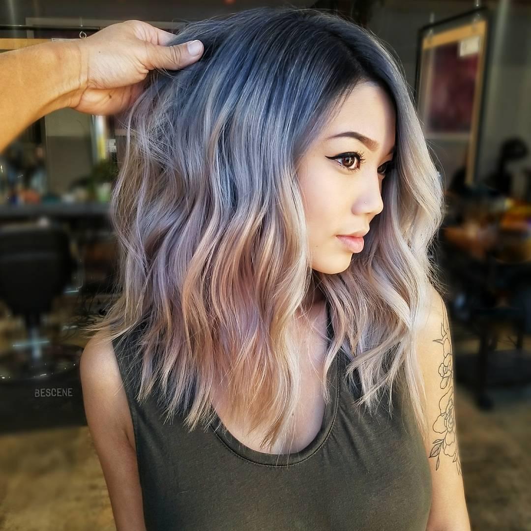 причёски для волос средней длины фото 5