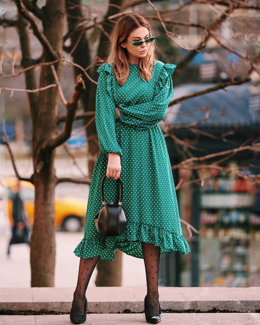 платья миди фото 12