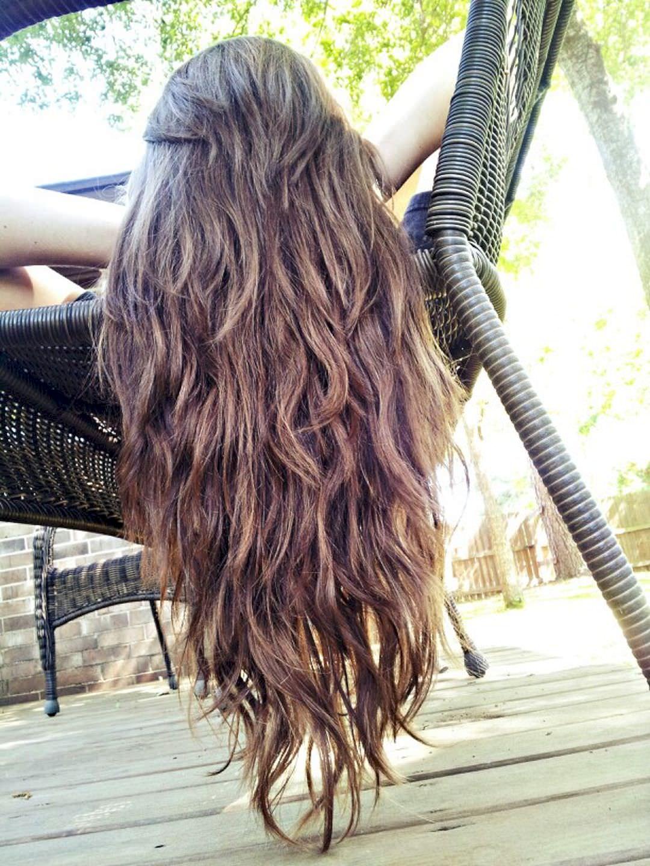 лисий хвост на длинных и средних волосах фото 2