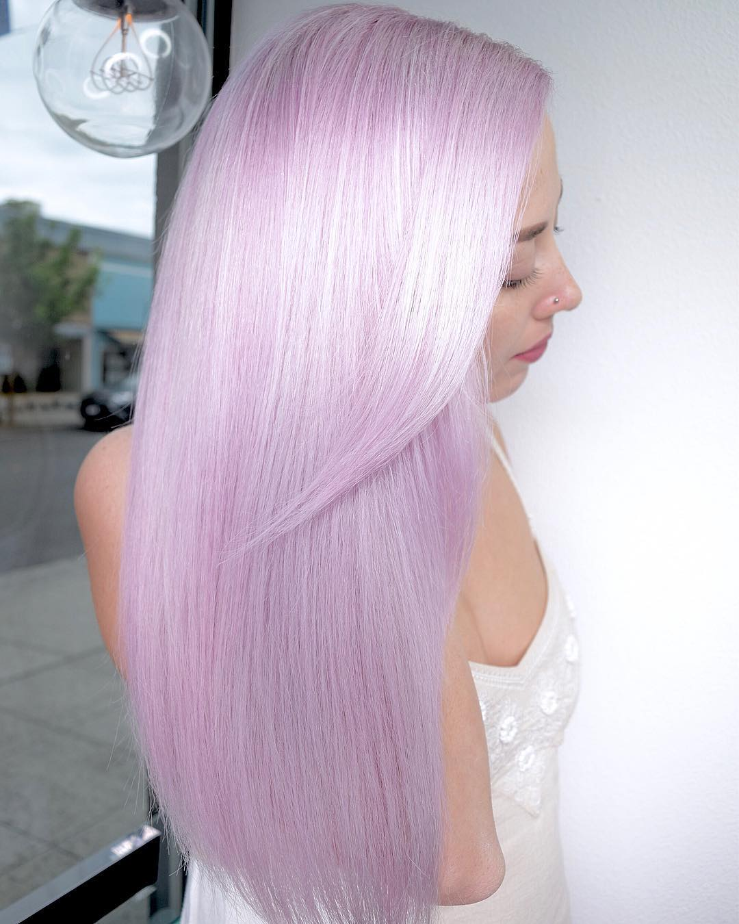 Цвет волос металлик фото 8