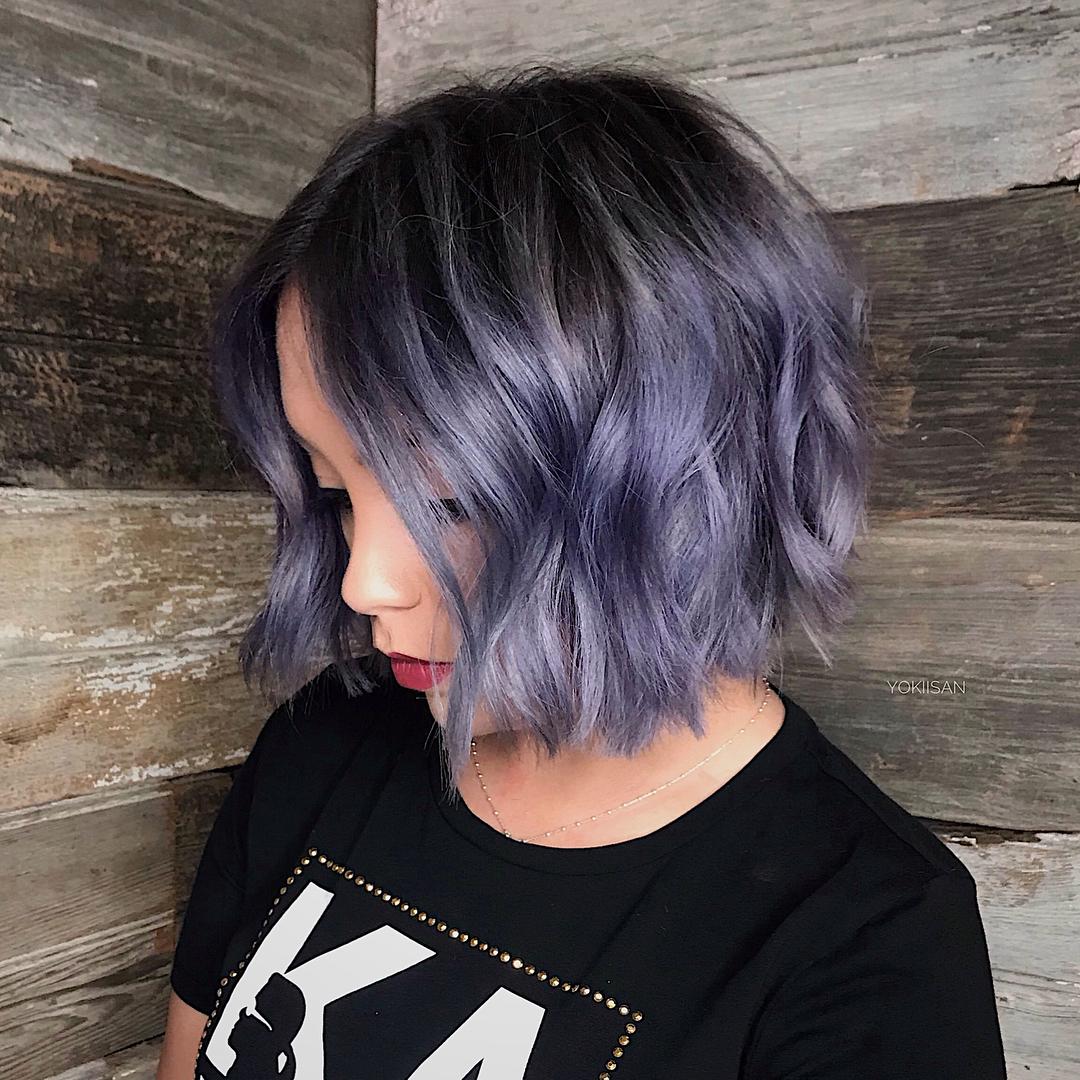 короткие волнистые причёски 2019 фото 10