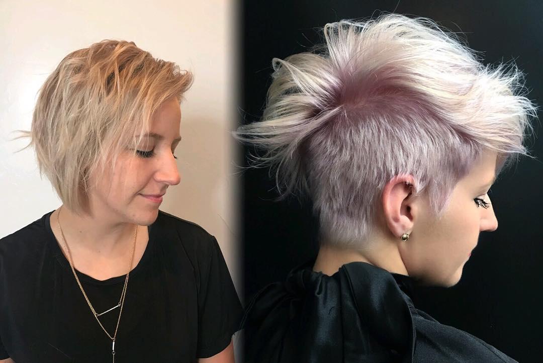 короткие причёски для женщин старше 40 фото 12