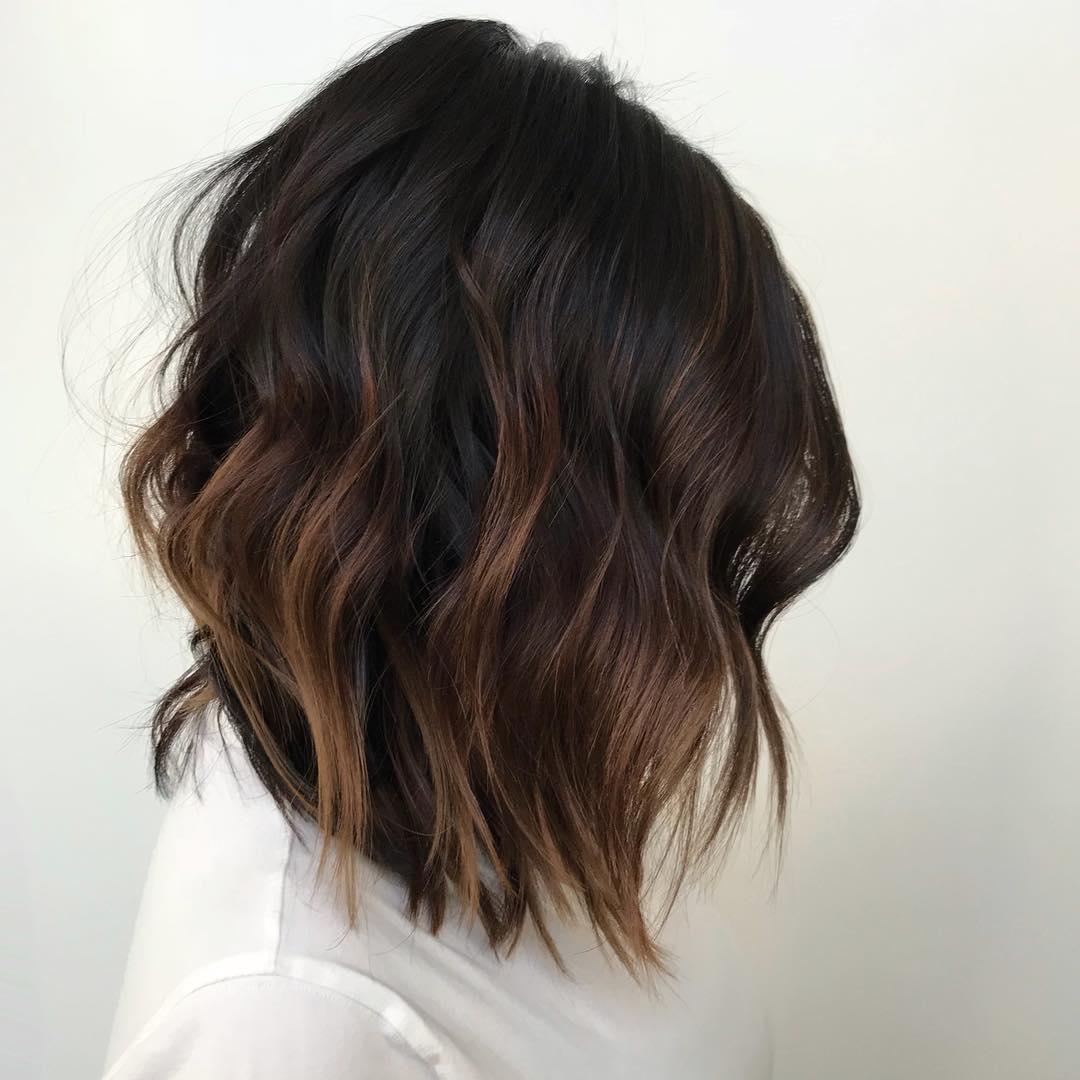 Тёмно-каштановый цвет волос фото 14