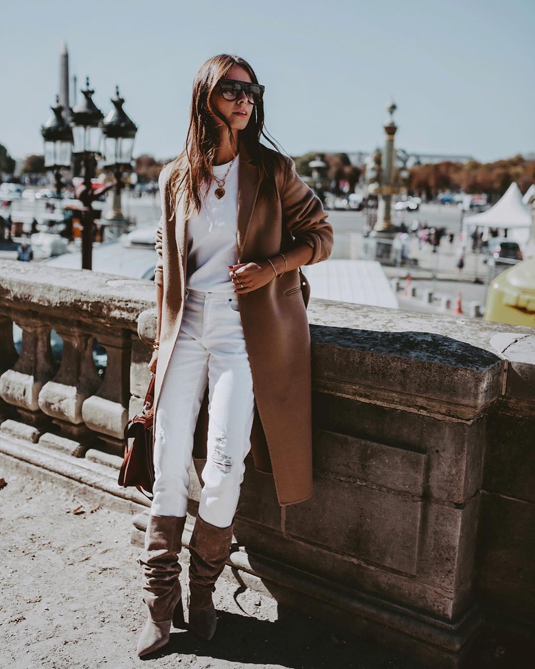 белые джинсы фото 4