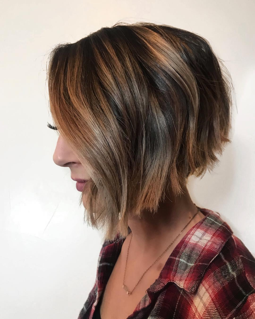Тёмно-каштановый цвет волос фото 15