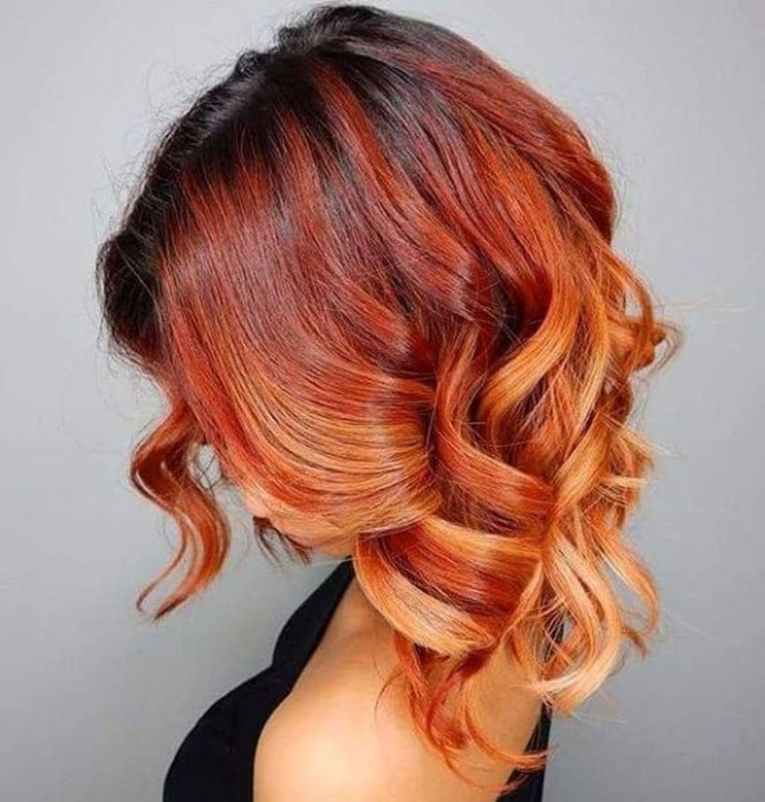 Балаяж на средние волосы: фото 3