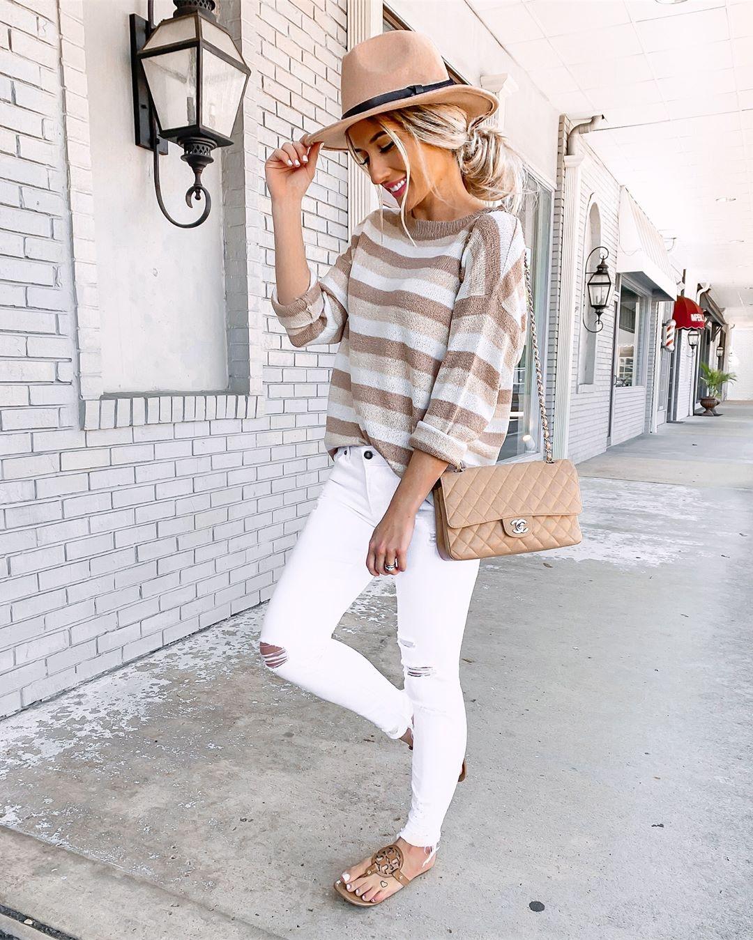 белые джинсы фото 10