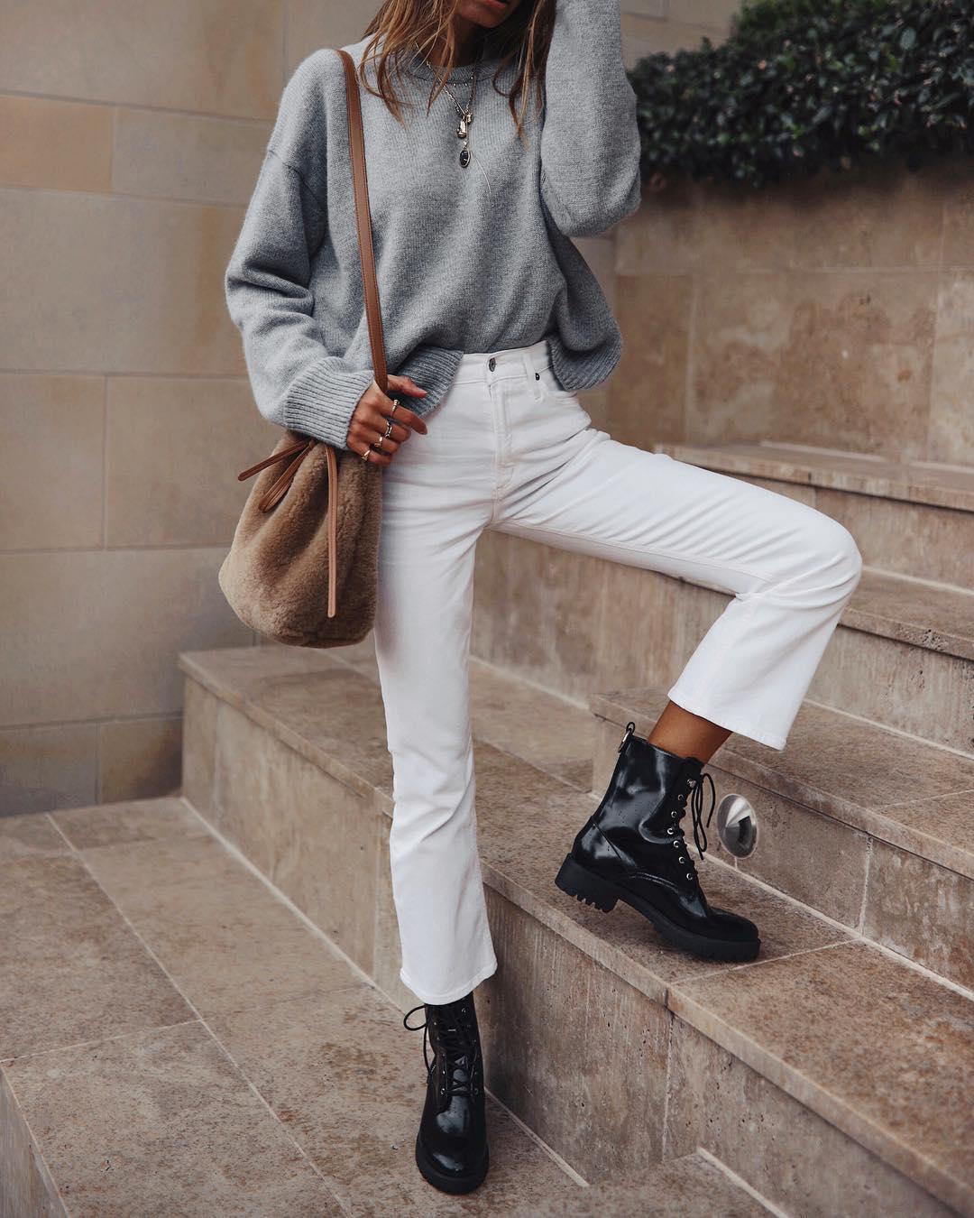 белые джинсы фото 2