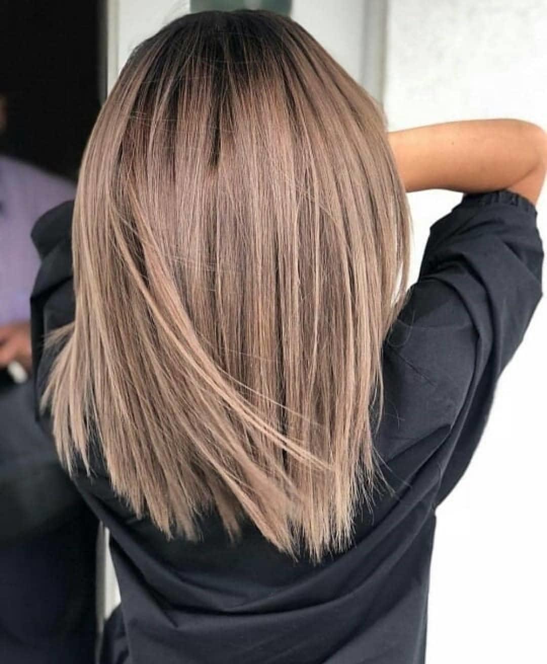 Балаяж на средние волосы: фото 4