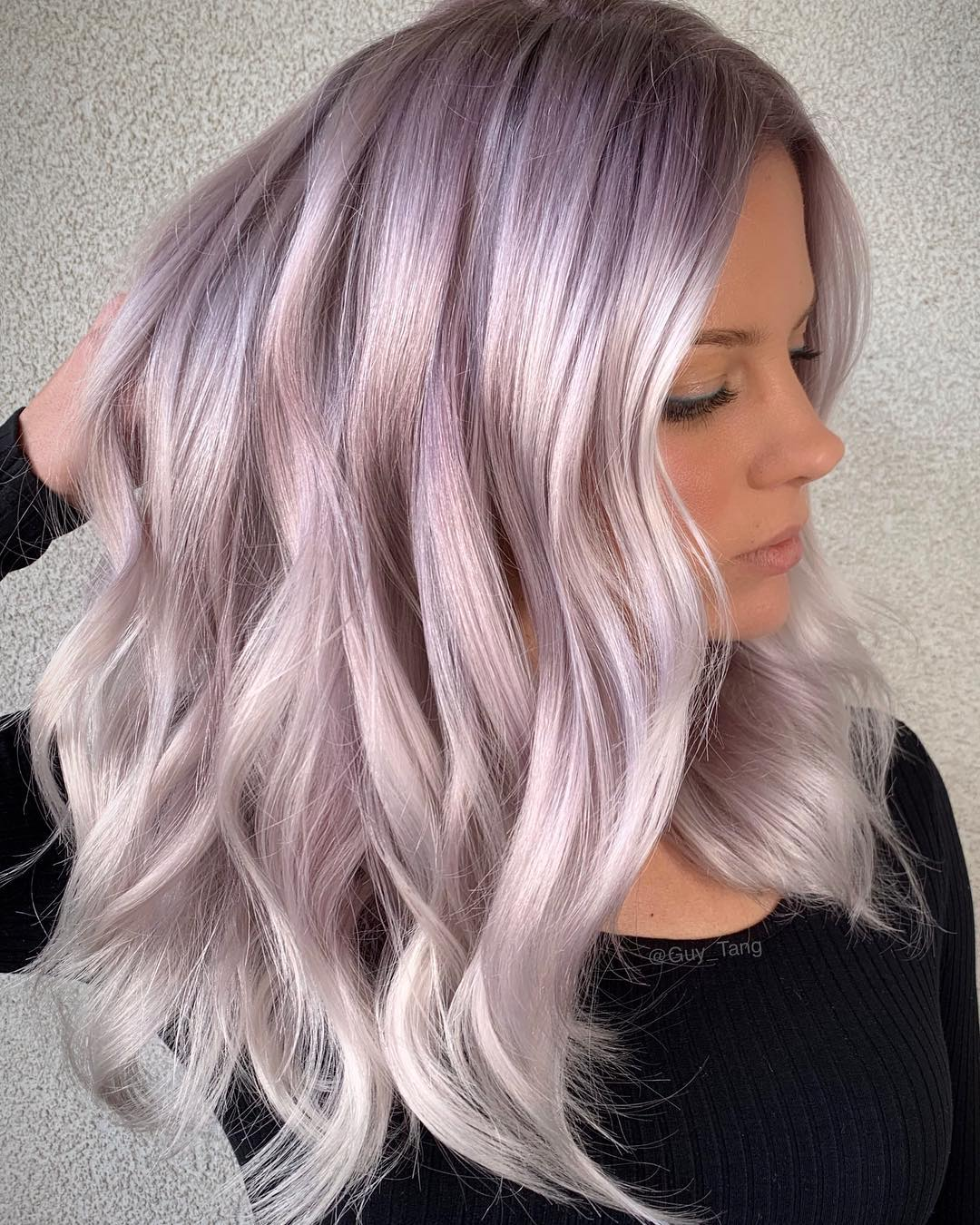 Цвет волос металлик фото 2