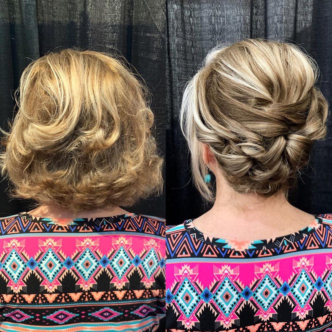 причёски для коротких волос фото 5