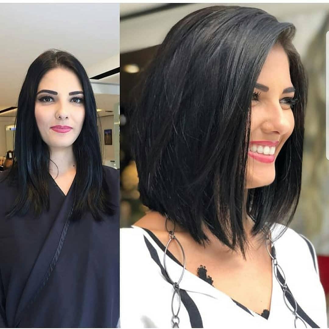 короткие стрижки для густых волос фото 6